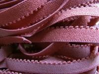 6m Wäsche- /UB-Gummi in altrosa/rosè Fb1459