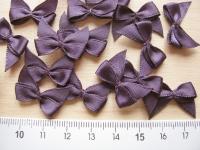 4 Schleifchen in violett
