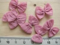 4 Schleifchen in pastellrosa Fb1060