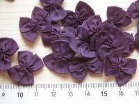 4 Schleifchen in lila