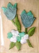 Bügelbild -Blume-