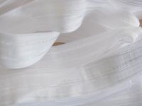6m Falzgummi in rein-weiß Fb2000