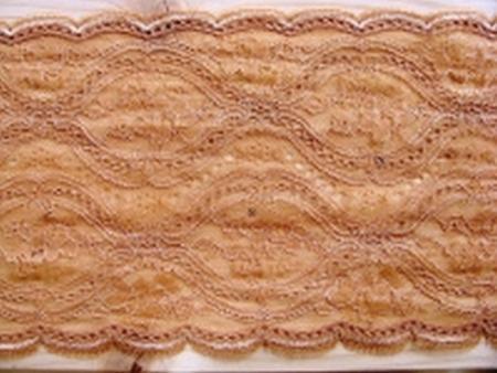 elastische Spitze in arnica/d.make-up Fb0287