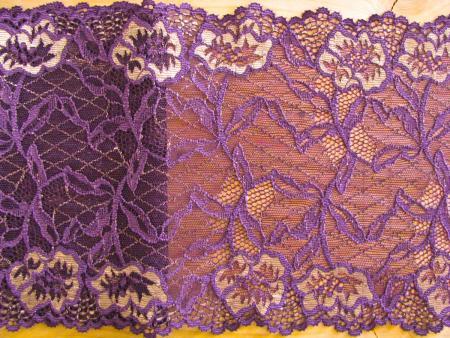 """elastische Spitze """"Violet Royal"""""""