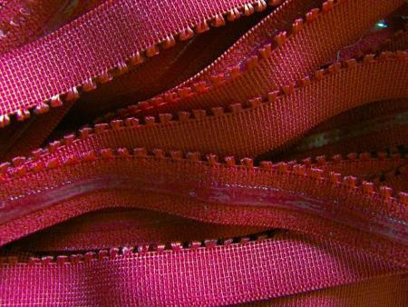 6m Unterbrustgummi/Silikon in d.kirsch-rot Fb0105
