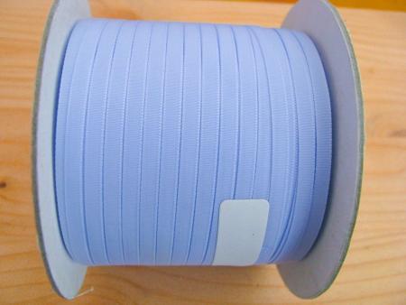 200m/1 Rolle Schleifchenband in baby-blau Fb0818