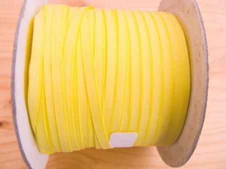 200m/1 Rolle Schleifchenband in hell-gelb Fb0113