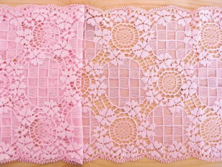 1m elastische Spitze in baby-rosa Fb1056
