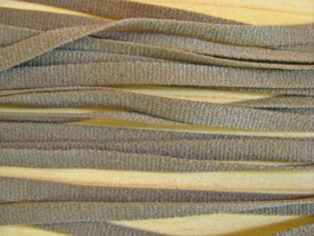 15m zartes Wäscheband in khaki Fb1162