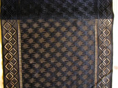1m XL-elastische Spitze in schwarz Fb4000, passend zu SP-178