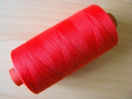 1 Spule AMANN rasant Nähgarn in rojal-rot Fb0503