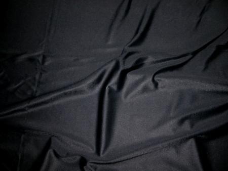 1m bi-elastische Microfaser in schwarz Fb4000