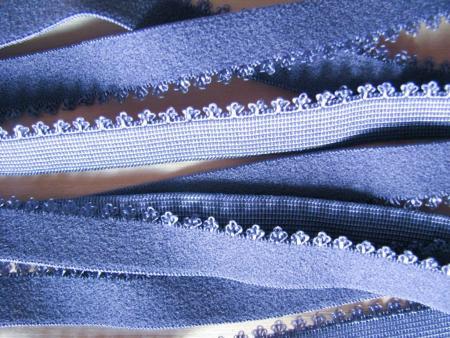 6m Wäsche - Unterbrustgummi in moonlight metall Fb0311