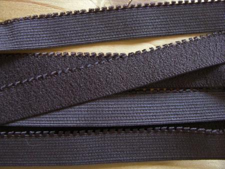 6m Unterbrustgummi in negro-braun/mocca Fb1002