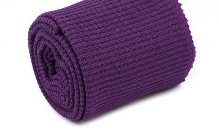 1 Set Bündchen - elastisch in rot-violett Fb0056