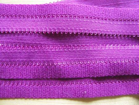 6m Schmuck-Falzgummi in purple/magenta Fb1059 - 20mm