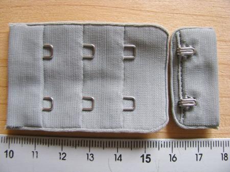 BH-Verschluss - in silber-grau Fb3501