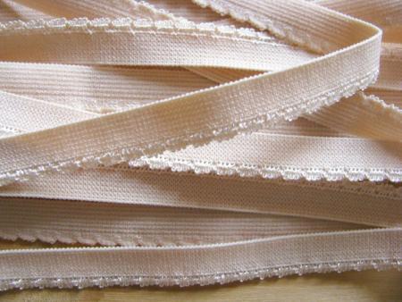 6m Wäschegummi in nude/hell-beige Fb0097