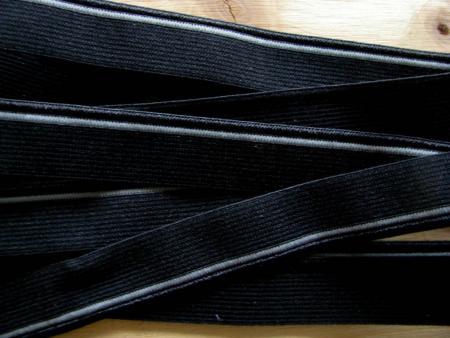 6m Paspelgummi in schwarz Fb4000...