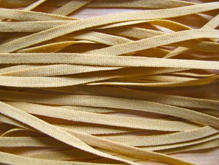 15m zartes Wäscheband in senf/ocker Fb1130