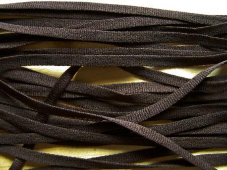 15m zartes Wäscheband in mocca-braun Fb0395