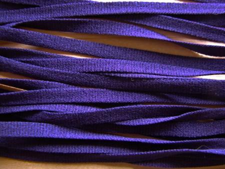 15m zartes Wäscheband in dunklem lila Fb0578
