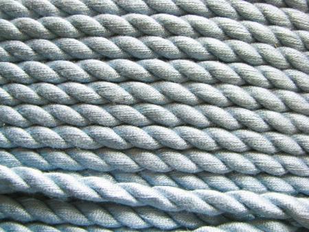 1m BW-Kordel in helio-blau Fb0350- 6mm