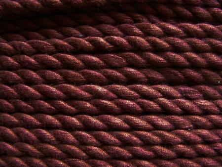 1m BW-Kordel in kastanie Fb0196 - 6mm