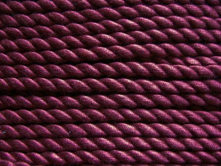 1m BW-Kordel in burgund Fb0109 - 6mm