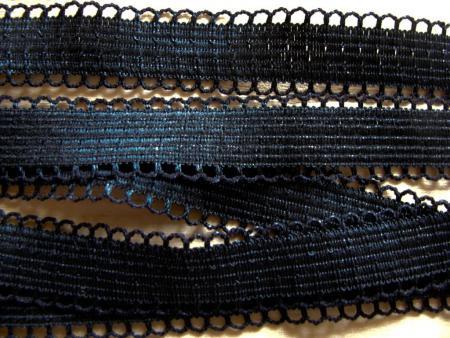 5m Schmuck-Träger-Gummi in schwarz Fb4000