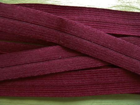 6m Falzgummi in burgund Fb0109