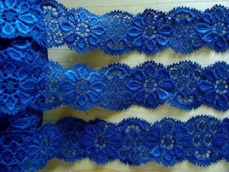 2m elastische Spitze in d.marine-blau Fb1305