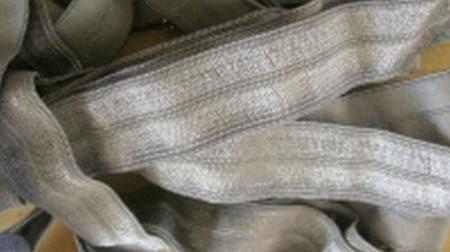 6m Falzgummi in platino Fb0343