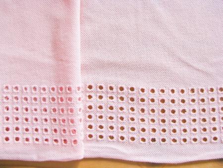 1m bestickte BW-Spitze in in baby-rosa Fb0082