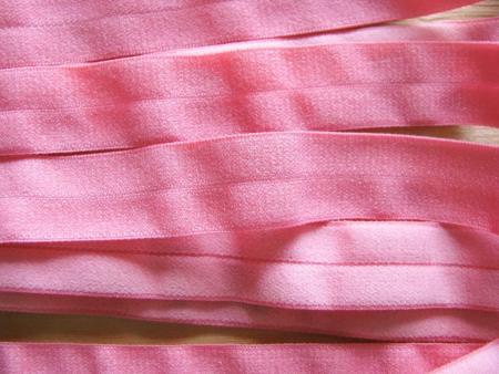 6m Falzgummi in hellem flamingo Fb0103 - samtig