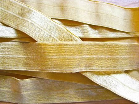 6m Falzgummi in gold/goldrute Fb0114