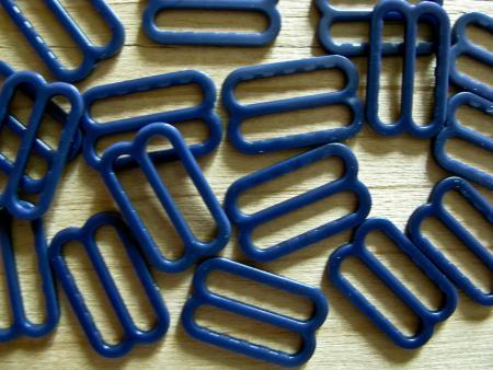 8 Stk. Schieber in d.marine-blau Fb0825 - 15mm