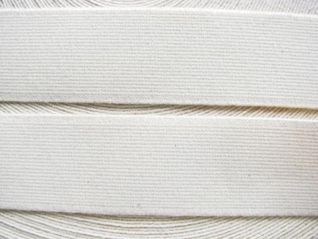 4m Bundgummi in natur/woll-weiß Fb2001 -3,5cm