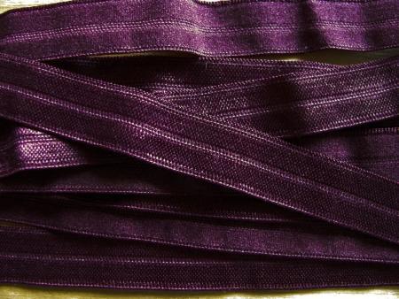 6m Falzgummi in holunder/d.rot-violett Fb0060