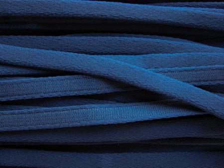 1m Bügelband in dunklem marine-blau Fb0825