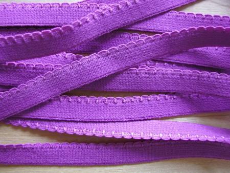 6m Wäschegummi in d.magenta/rot-violett Fb1062