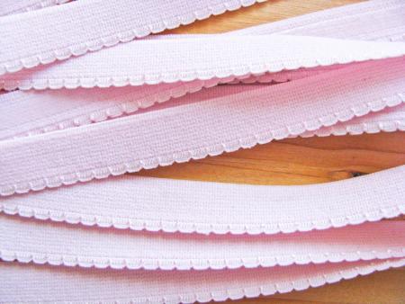 6m Unterbrustgummi/Silikon in hellem rosa Fb0082