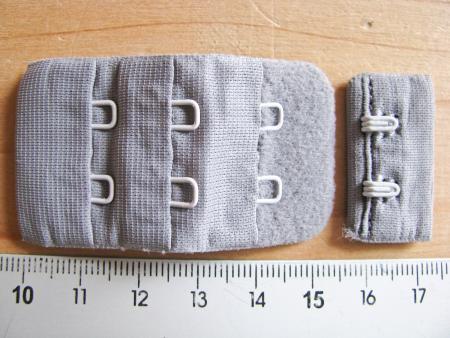 BH-Verschluss - d.silber-grau Fb0343