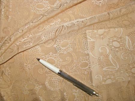 1m bi-elastische All-Over-Spitze in hellem make-up/hell-beige Fb1168