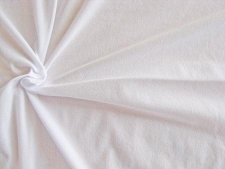 1m elastisches, hochwertiges Badefutter in rein-weiß Fb2000