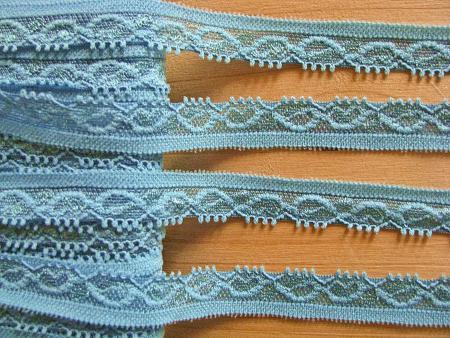 3m elastische Abschluss-Spitze in h.capri-blau Fb0273