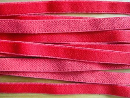 5m Satin-Träger-Gummi in nelken-rot Fb0629 - 9mm