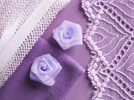 "1 Pkt. Materialpaket ""Summer Lilac"" - Slipset"
