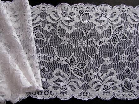 1m elastische Spitze in off-white Fb1000