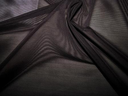 """1m bi-elastischer """"Tüll"""" mit toller Spannkraft in schwarz Fb4000"""